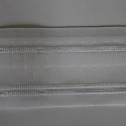 Plooiband wit met rimpelplooien