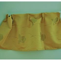 Gordijnstof 1023 goud gebloemd / gordijnen