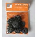 Footclick beschermdoppen 30mm - Voorkom krasschade door houten poten