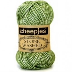 Stone Washed kleur 806 groen Scheepjes