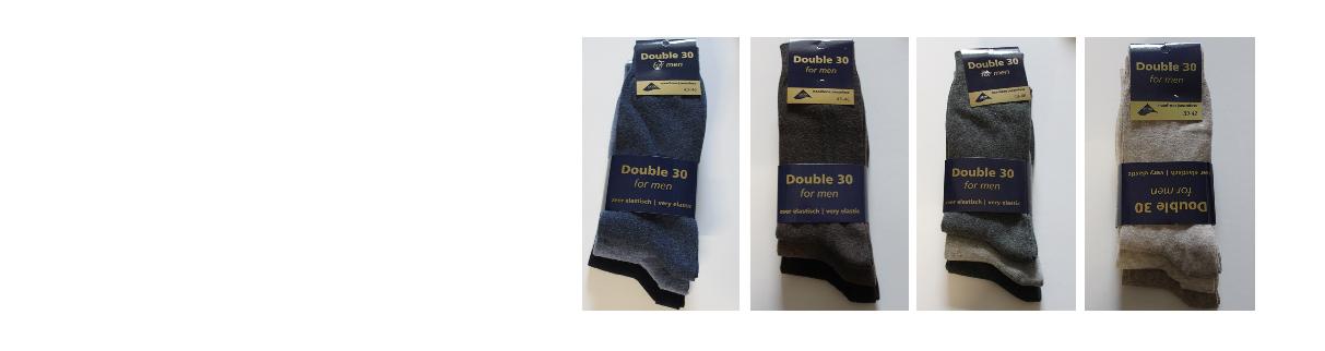 Double 30 sokken